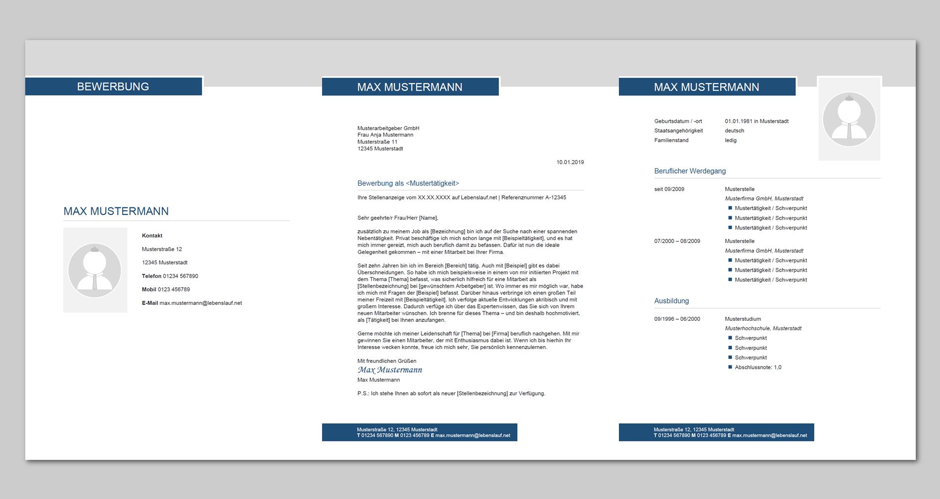 Bewerbung für einen Nebenjob: Muster, Beispiele & Tipps