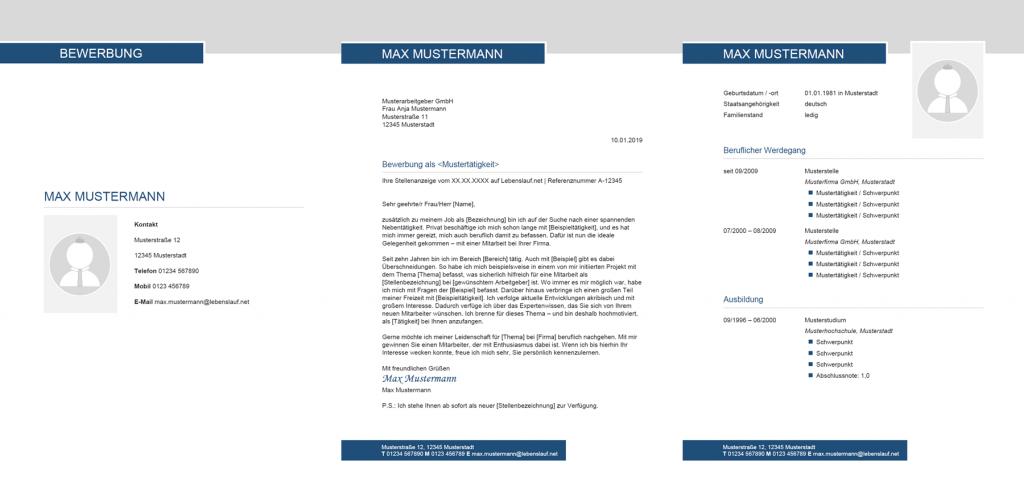 Vorlage / Muster: Bewerbung für einen Nebenjob (kostenlos)