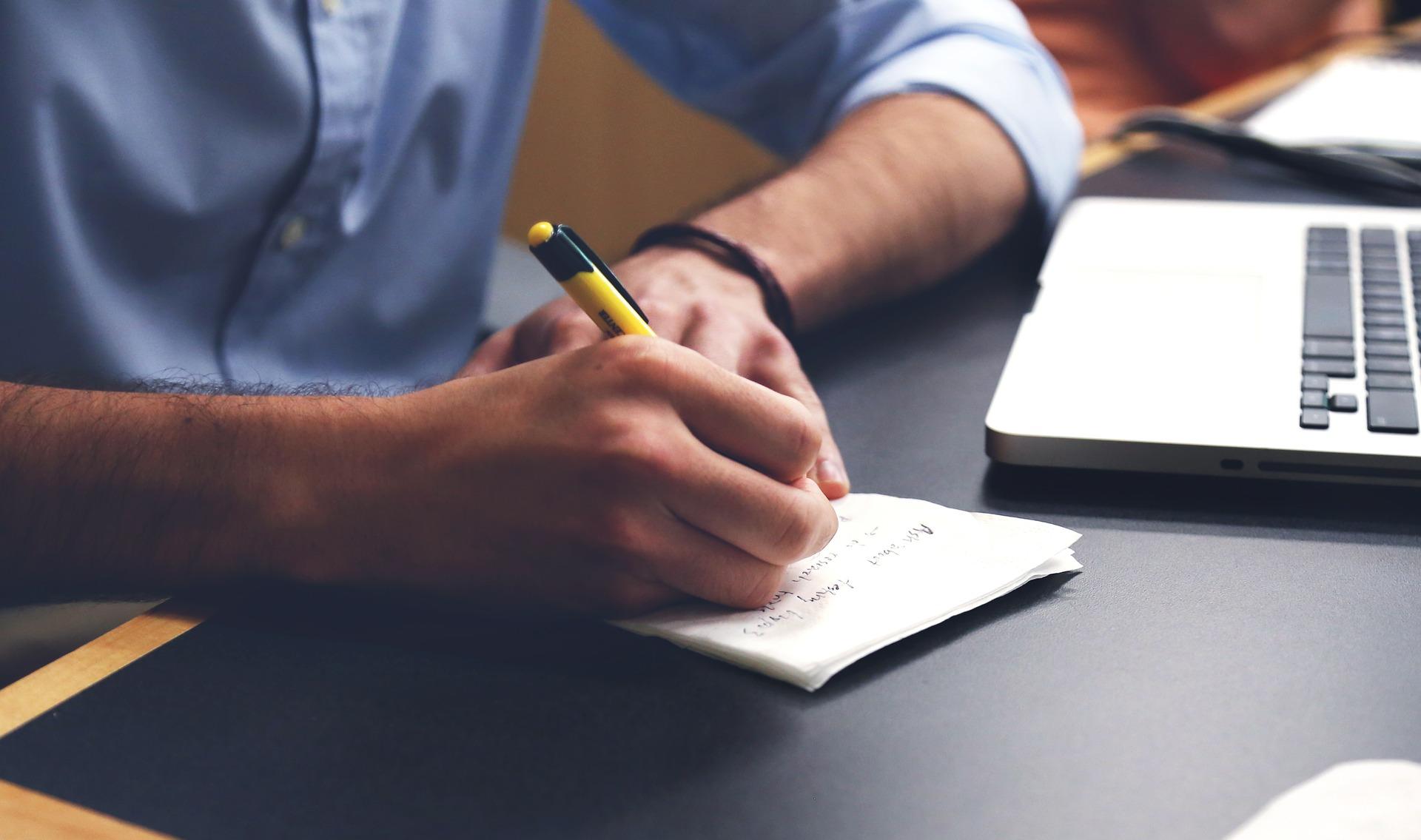 Protokoll schreiben