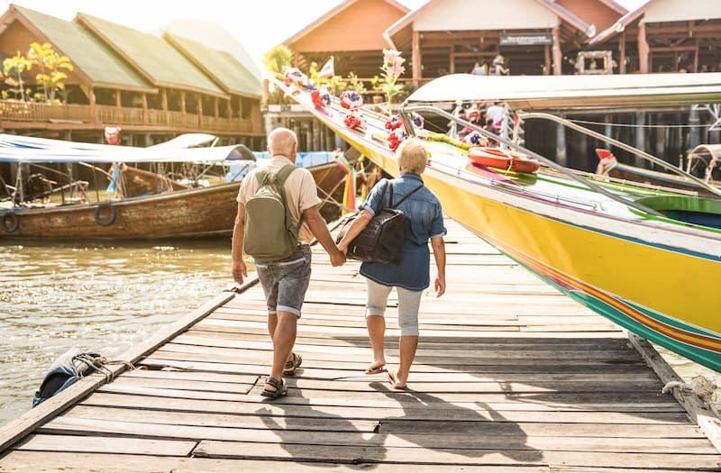 Mit genug betrieblicher Altersvorsorge lässt es sich im Rentenalter entspannt reisen