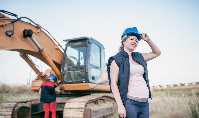 In der Schwangerschaft gibt es in manchen Berufen ein Beschäftigungsverbot