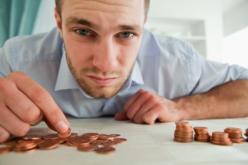 Bei der Grundsicherung haben Menschen wenig Geld